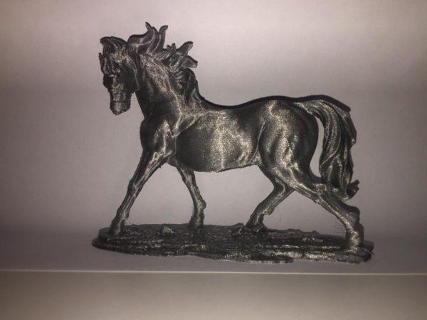 make a shape realizzazione stampa 3d cavallo