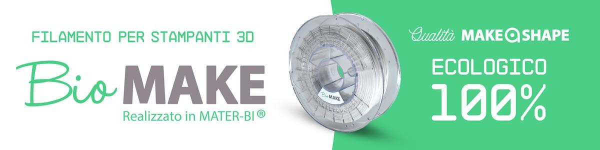 Filamento per stampanti 3D Ecologico