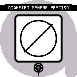 Diametro sempre preciso  Ogni bobina è controllata singolarmente e la calibrazione costante del diametro con un nostro specifico metodo  digitale-elettromeccanico,  garantisce la tolleranza di ± 0.02mm sul diametro,   con tale metodo  assicuriamo la costanza del flusso durante la Stampa 3D.
