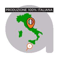 Produzione 100% Italiana Produciamo Filamenti per Stampa 3D da Granuli di PLA vergine al 100%. La nostra mission è quella di dare forma ad un prodotto tutto Italiano, dall'approvvigionamento delle materie prime al confezionamento.