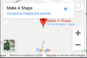 make a shape google maps