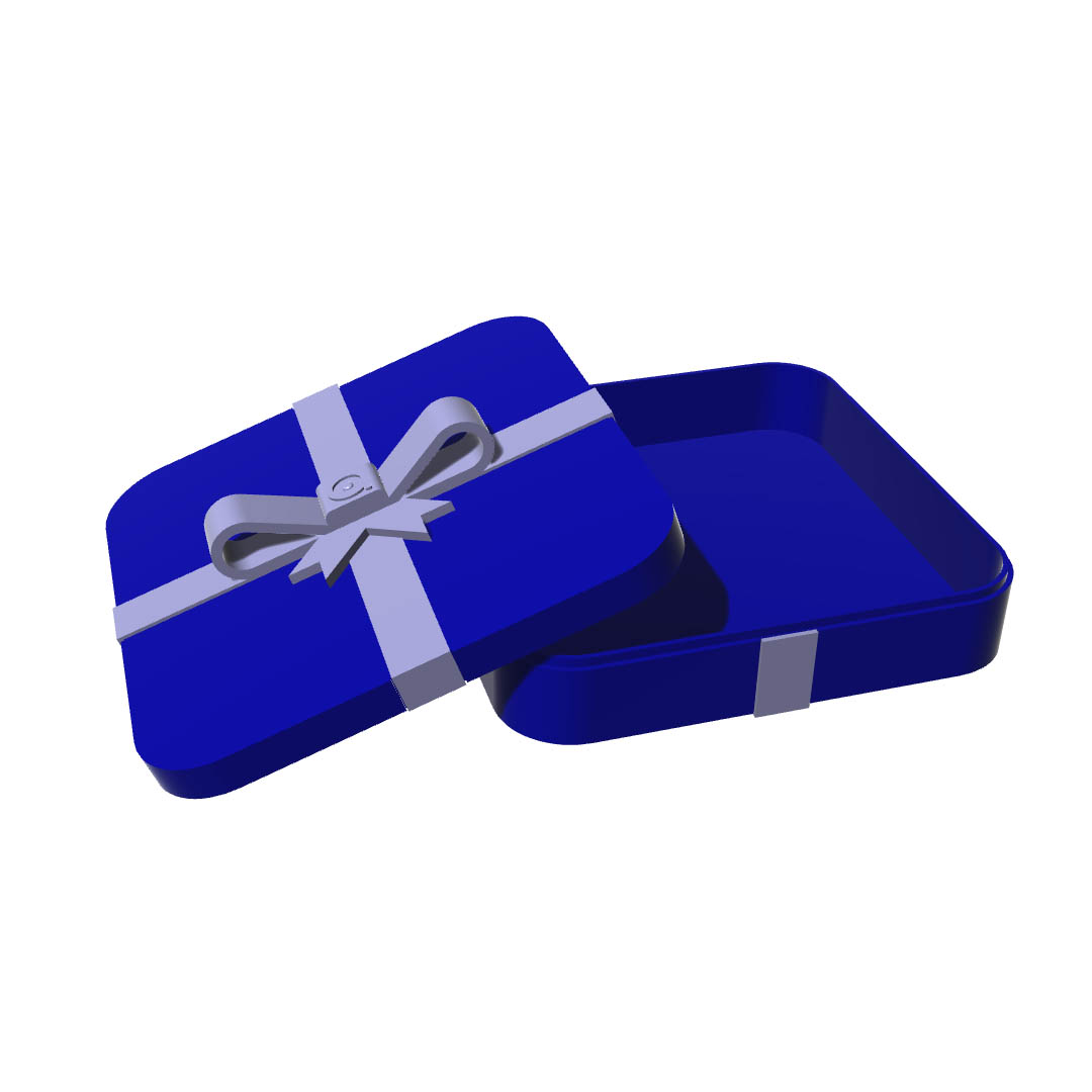 Download modelli 3d - Gift Box