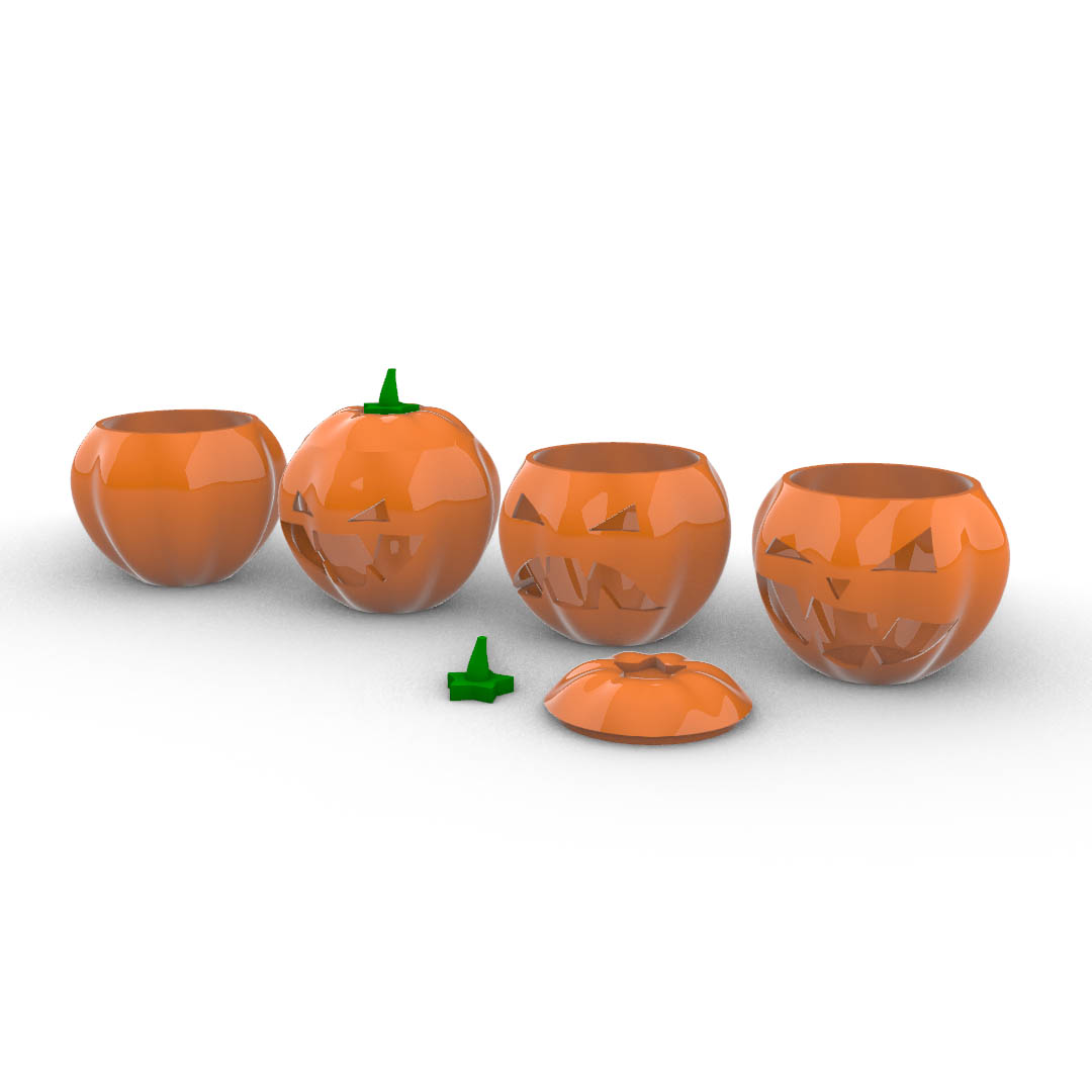 Download modelli 3d - Halloween